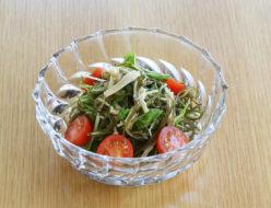 きざみ昆布のサラダ